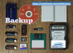 Keep Backups offline