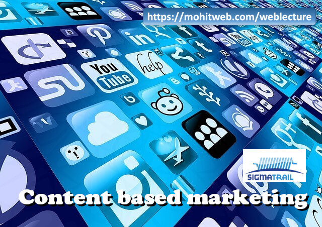 Content based marketing