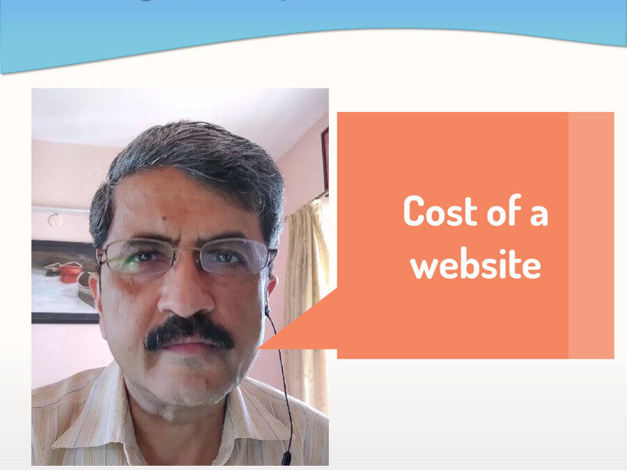 Video – The right price for a website