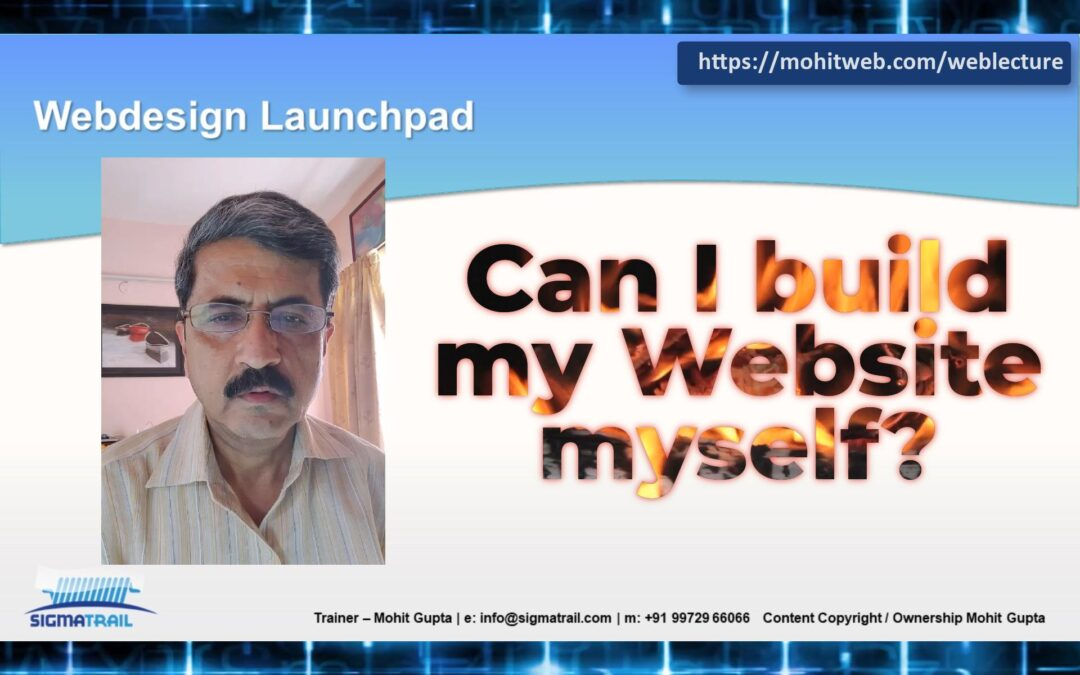 Video – Can I build my website myself?